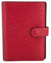 Louis Vuitton Epi Small Ring Agenda Cover