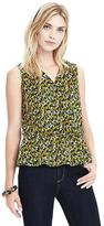 Banana Republic Floral Wrap Tank