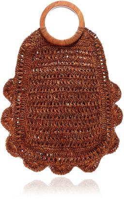 Kayu Binah Woven Straw Tote