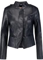 Tory Burch Leather Biker Jacket