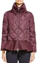 Moncler Vouglette Peplum Coat - 100% Bloomingdale's Exclusive