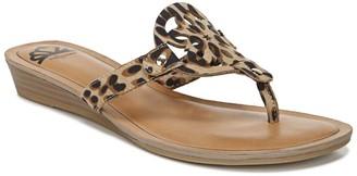 Fergalicious Tamra Leopard Print Sandal