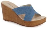 Athena Alexander &Rialto& Platform Wedge Sandal (Women)