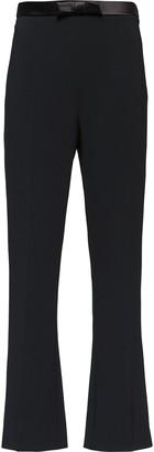 Miu Miu Bow Waistband Cropped Trousers