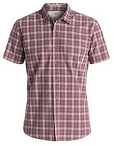 Quiksilver Men's Everyday Check Short Sleeve Button Down Shirt
