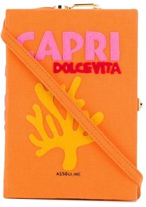 Olympia Le-Tan Capri Dolce Vita book clutch