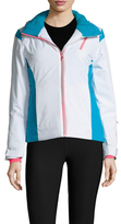 Spyder Prevail Colorblocked Hooded Jacket
