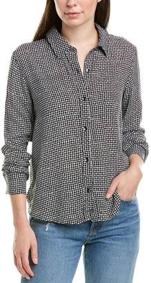 Splendid Pointed Collar Button Down Shirt