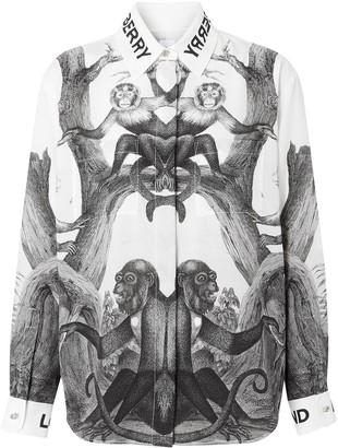 Burberry Montage Print Shirt