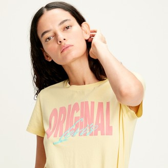 Levi's Cotton Logo Print T-Shirt with Short Sleeves and Crew Neck