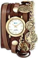 La Mer Women's LMCW2005 Roman Coins Wrap Watch
