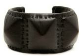 Wendy Nichol Leather 3 Pyramid Stud Cuff