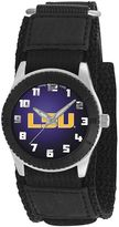 Game Time Rookie Series LSU Tigers Silver Tone Watch - COL-ROB-LSU - Kids