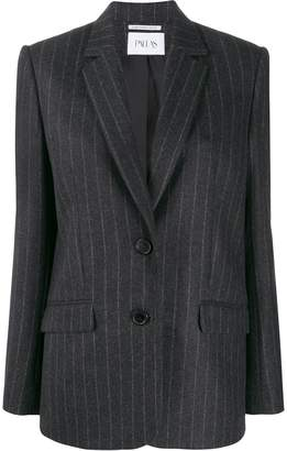 Pallas Paris pinstripe single breasted blazer
