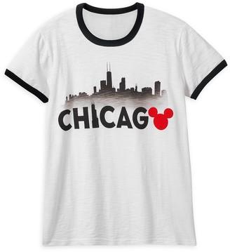 Disney Mickey Mouse Chicago Ringer T-Shirt Shirt for Women
