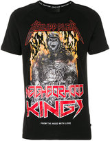Philipp Plein Neighbourhood Kings flame T-shirt
