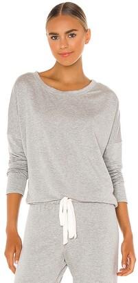 Eberjey Softest Sweats Slouchy Sweatshirt