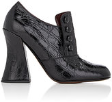 Marc Jacobs Women's Crocodile-Stamped Leather Pumps-BLACK
