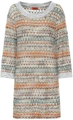 Missoni Stretch silk sweater dress
