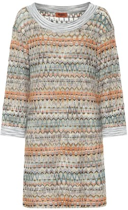 Missoni Stretch silk sweater dress