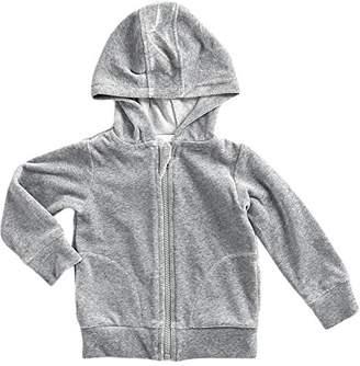 Camilla And Marc Mundo melocotón Baby Girls' Sweatshirt Flecked Grey 110 cm