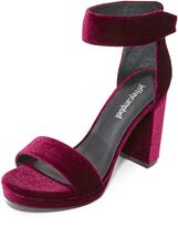 Jeffrey Campbell Lindsay Velvet Sandals