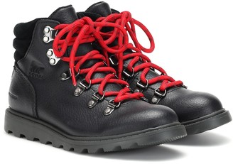 Sorel Madison Hiker leather ankle boots