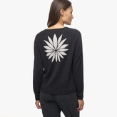 James Perse Graphic Cashmere Sweater