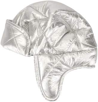 Federica Moretti quilted aviator hat