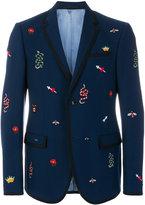 Gucci Monaco embroidered jacket