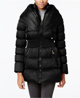 Laundry by Shelli Segal Pillow-Collar Down Coat