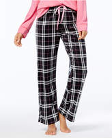 Hue Printed Fleece Pajama Pants
