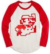 Junk Food Clothing Boys' Mario Nintendo Raglan Tee, Big Kid - 100% Exclusive