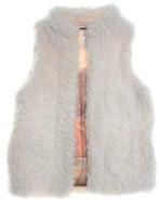 PJ Salvage Natural Shag Vest