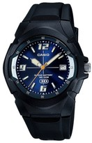 Casio Men's Dial Watch with 10 Year Battery - Blue/Black