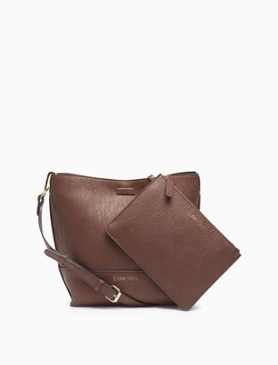 Calvin Klein Sonoma Small Crossbody Bag + Zip Pouch