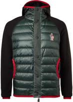 Moncler Grenoble - Fleece-panelled Padded Ski Jacket