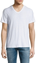 Michael Stars Men's V-Neck Slub Tee
