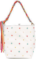 RED Valentino star-embellished tote - women - Leather/Metal (Other) - One Size