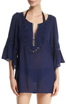 L-Space L Space Breakaway Embroidered Coverup Tunic
