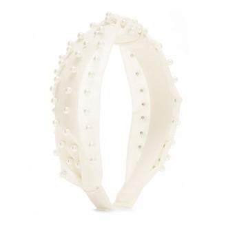 Jon Richard Jewellery White, Pearl, Headband