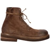 Marsèll Parrucca Laced Boots In Suede With Macro Zip