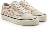 Vans Checkered Old Skool Sneakers with Leather and Suede