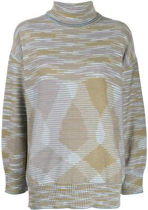 M Missoni intarsia knit jumper