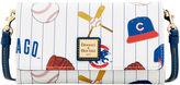 Dooney & Bourke MLB Cubs Daphne Crossbody Wallet