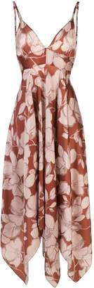 Alexis Gaiana floral print dress