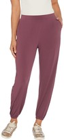 Lisa Rinna Collection Knit Cropped Jogger Pants