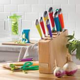 Cuisinart 11 Piece Rainbow Knife Block Set