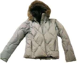 Salomon Grey Polyester Coats