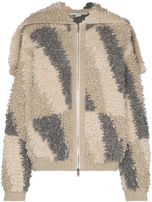 Stella McCartney Fleece Hooded Jacket